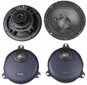 TC-Choppers audio Rokker rear Speakers kits Fits:> 14-17 FLHT/​FLHX (except Twin Cooled )