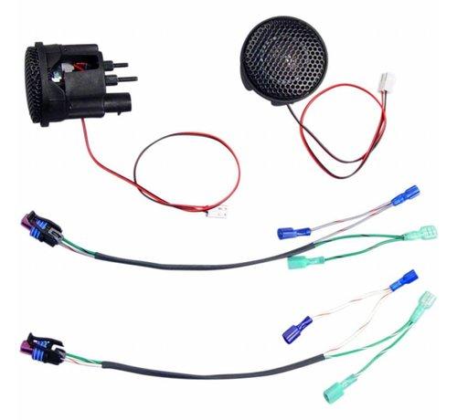 TC-Choppers audio Rokker tweeter kits Past op:> 98-13 FLHT / FLHX / FLTR