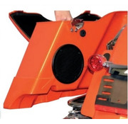 TC-Choppers audio Rokker XT Subwoofer speakers kits Fits:> 98-13 FLHT/​FLHX/​FLTR with hard saddlebags