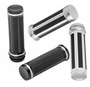 handlebars grips Razor in Black or Chrome