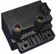 Bobina de recambio OEM doble fuego 31639-95 Se adapta a: I, I, FLHTCU FLTC, FLTCU, modelos> 95-98 / FLHTC / FLHR / I EFI