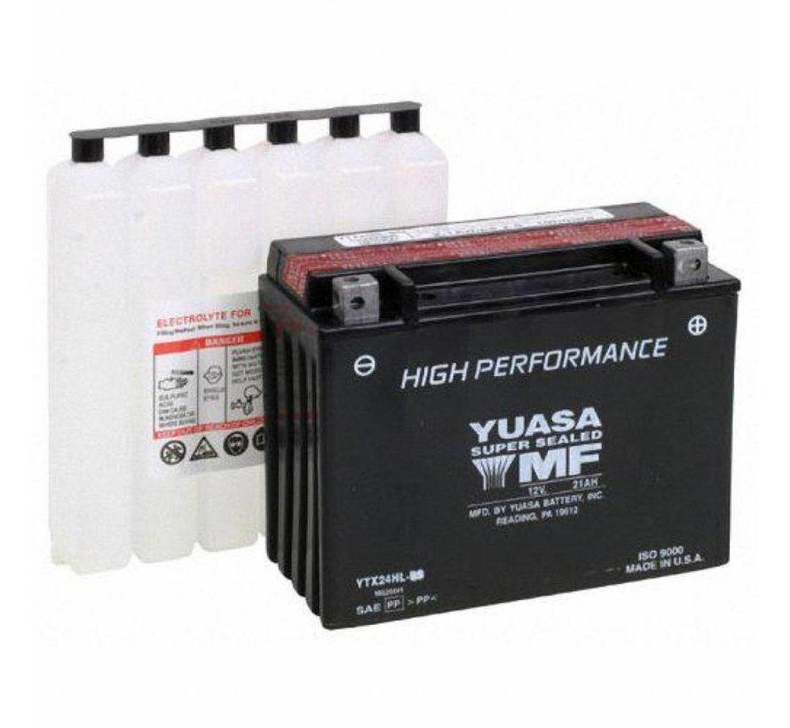 Batterie YTX24HL-BS Past op> 1994-1996 FLH / FLT