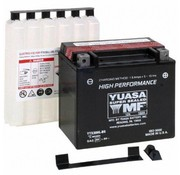 Yuasa Batterie YTX20HL-BS Fits> 1991-2020 Softail/Dyna; FXS; FLS; FXSB/SE; 1997-2003 XL Sportster