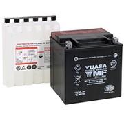 Yuasa AGM sin mantenimiento YUAM6230X adapta a:> 97-17 FLT / FLHT / FLHX / FLHR / FLTR y H-D FL Trikes