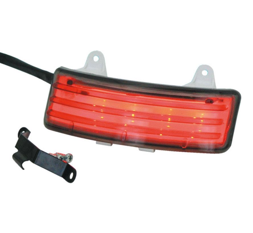 achterlicht LED tribar achterlichten voor straatglijders met of zonder zwart / chroom extensie Past op:> 1999 2008 Touring FLH / FLT