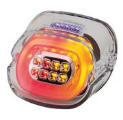 layback feux arriÃẀre LED, clair