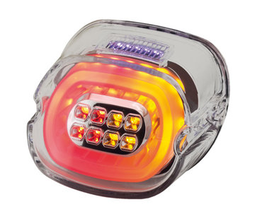 TC-Choppers achterlicht LED layback helder