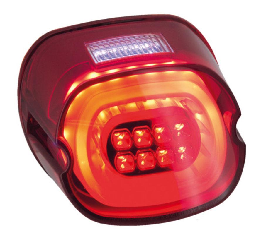 achterlicht LED-verlichting Rode lens