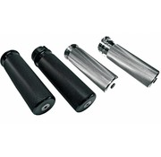 Joker Machine handlebars  grips Knurled aluminum Black or Raw