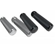 Joker Machine handlebars  grips Knurled aluminum Black or Raw : for E-throttle