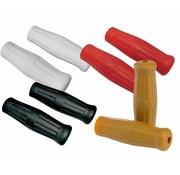 Joker Machine stuur Custom Rubber radiale grepen Zwart Wit Rood of Natuurlijke kleur