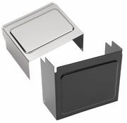 batterijdeksel Zwart of Chroom - Past op:> 97-05 FXD / FXDWG 97-03 XL