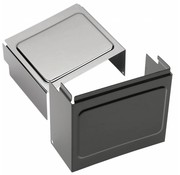 TC-Choppers Batteriefachdeckel schwarz oder chrom - Passend für:> 97-05 FXD / FXDWG, 99-04 FXDX, 01-03 FXDXT, 97-13 XL Sportster; Repl. OEM # 66375-97
