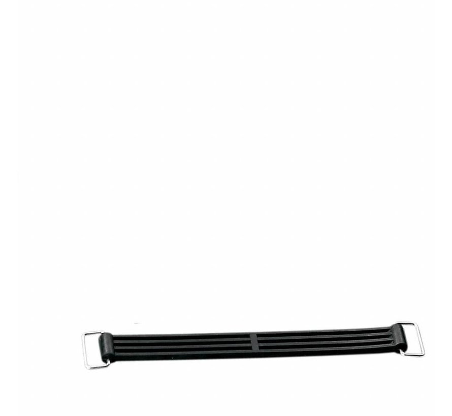 batterie straps- Past op:> 84-99 FXST / FLST 80-92 FLT / FLHT (rubber); repl. OEM # 66105-77