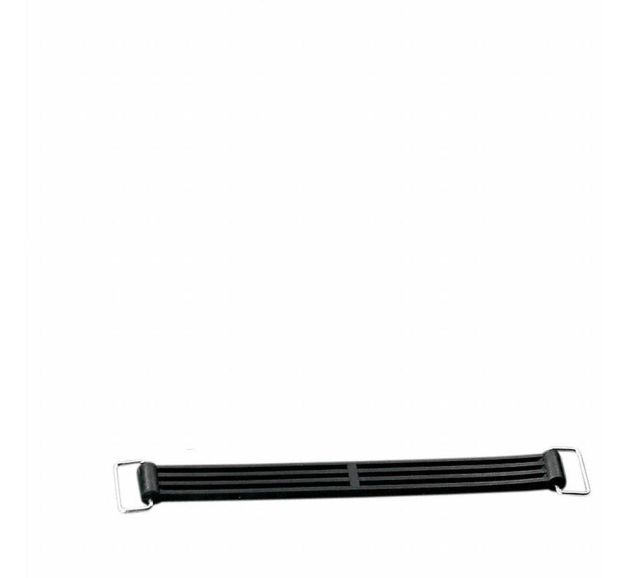Batterijriemen - Geschikt voor:> 02-17 V-Rod (rubber); repl. OEM # 66017-01