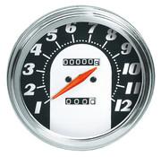 Zodiac snelheidsmeters voor fxwg-fxst- flst: 1962 - 1967 gezicht