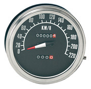 Zodiac speedo speedometers Black face 1968-1984 Style in KM/h
