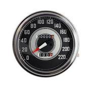 MCS tachymètres, visage noir 1941-1945 Style en km / h: transmission entraînée