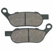 TC-Choppers Rear brake pad organic: For 08-17 FXD/FXDC/FXDB/FXDL/FXDWG; 08-17 FXS/FXSTB/FXSTC/FLS/ FLSTF/FLSTN/FLSTC/FXCW/FXCWC/FLSTFB/FLSTSB