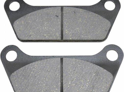 brake pad Rear organic: for 84-85 FLT/FLHT