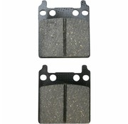brake pad Rear/Front organic: for PM 162 X 2 (0056‐1600)