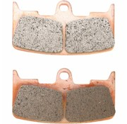 brake pad Front Sintered: for all 03-09 XB9/​XB12 (6-piston)