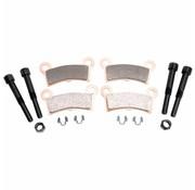 brake pad Rear Sintered: for 09-13 FLHTCUTG 10-11 FLHXXX Tri-Glide