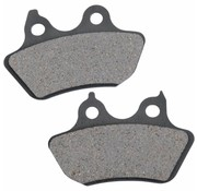 brake pad Rear organic: for 06-07 FXSTB/C 07 FLSTF