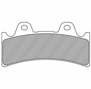 brake pad Rear/Front Sintered: for 4-Piston (J-Four) 6‐piston (J‐SIX)