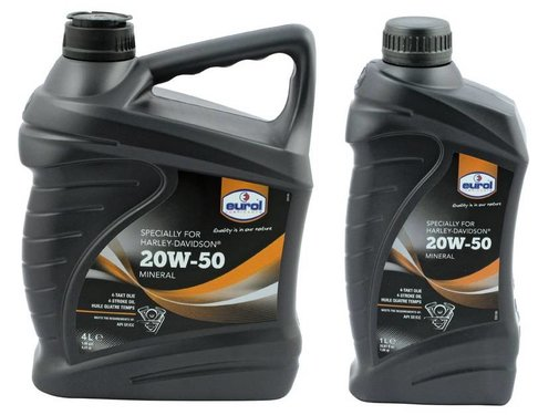 Eurol Oil Motorcycle Sae 20w50 multigrade mineraal