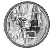 Adjure headlight diamond cut - 3-line clear lens