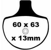 plaquette de frein avant extrêmes: Convient à:> 84-99 Touring, Dyna, Softail (Girling Caliper), 00-11 modèles Springer et 87-99 XL Sportster