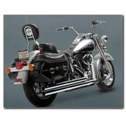 Vance & Hines exhaust big shots long Softail - Fits:> 86-11 FXST FXSTC FXSTB FXSTD FXSTS FLSTF FLSTN