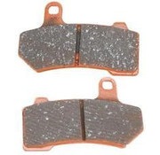 TC-Choppers brake pad Rear/Front extreme : Fits:> 08-17 All Touring FLH/FLT Trike 09-13 FLHTCUTG/​FLHXXX and 06-17 VRSCA/​VRSCB V-Rod