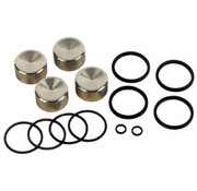 Drag Specialities caliper rebuild kit Fits:> Front/​Rear 00-07 Big Twin and XL Sportster (4-piston); replace 44313-00, 44313-01