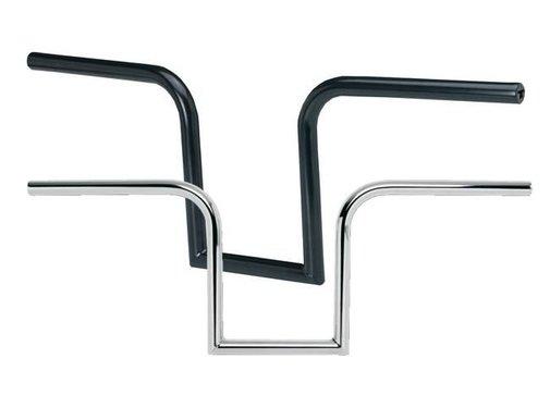 Biltwell handlebars Frisco - Black/ Chrome 7 inch rise