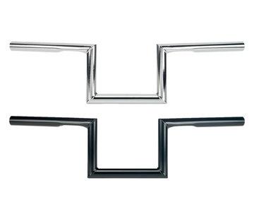 Biltwell ZED Lenker 1 Zoll mit Grübchen schwarz oder chrom