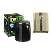 Hiflo-Filtro Filtre à huile à débit élevé - Noir ou chromé, convient:> 84-90 FLT, 84-94 FXR, 84-99 Softail, 86-17 XL, 09-12 XR 1200