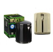 Hiflo-Filtro Oil filter High flow - Black or Chrome Fits> 84-90 FLT; 84-94 FXR; 84-99 Softai;l 86-17 XL; 09-12 XR 1200