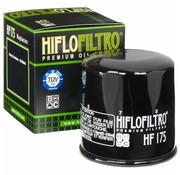 Hiflo-Filtro Oliefilter High flow - Zwart Past op> 15-17 XG500 / 750