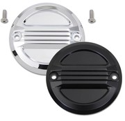 Wyatt Gatling Engine Air Flow Ignition System Cover Black or Chrome  Fits: > 04-20 XL Sportster