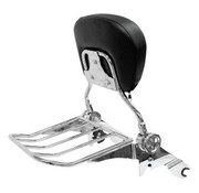 TC-Choppers desmontable rápida, respaldo y rackbackrest y la cremallera, para FLHRC 14-17 / FLHR / FLHX / FLTR