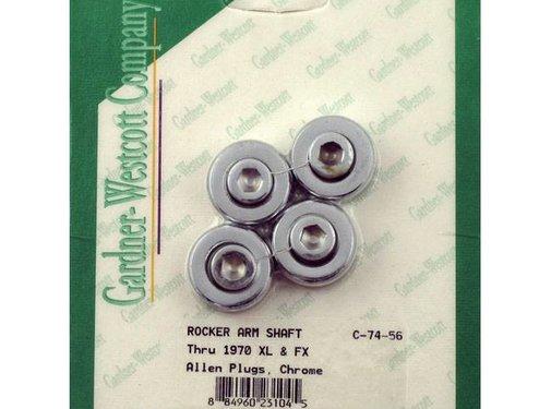 GARDNER-WESTCOTT wheel rocker shaft end plugs