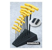 Bondhus tools  t-handle allen ball wrench set - usa