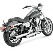 TC-Choppers exhaust Mamba slip-on - Fits:> 91-17 FXD 93-08 FXDWG