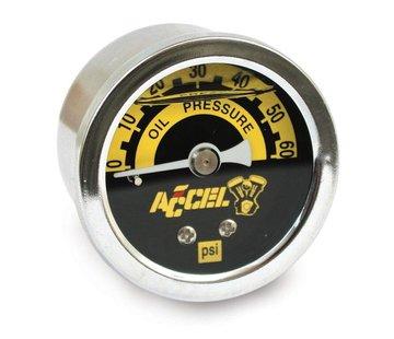 Accel Oliedrukmeter 100 PSI