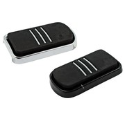 brake brake pedal pad black or Chrome