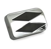 TC-Choppers Bremspedalauflage, Diamant-Stil