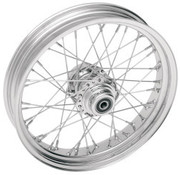 Drag Specialities RIM 18X3.50 40-SPOKE STEEL CHROME
