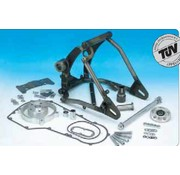 TC-Choppers frame wide ass achterbrug kit softail Past op:> Softail EVO 1987-1999